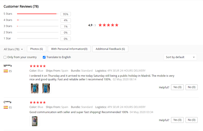 Xiaomi Redmi Note 9S atsiliepimai