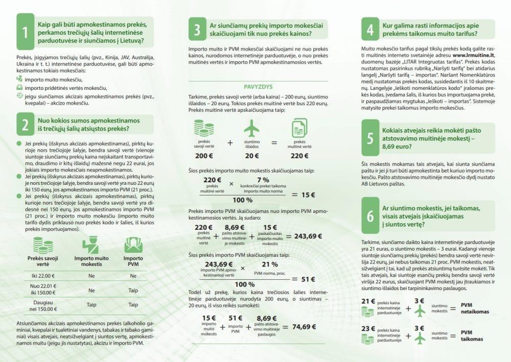 AliExpress Muito mokesčiai