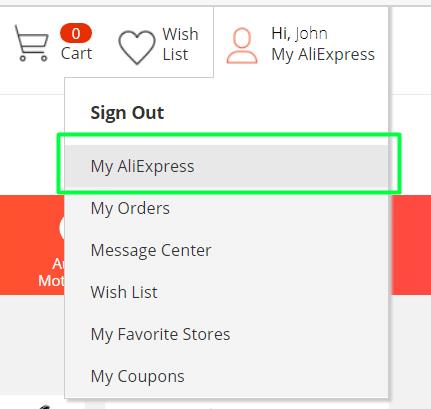 AliExpress registracija lietuviškai